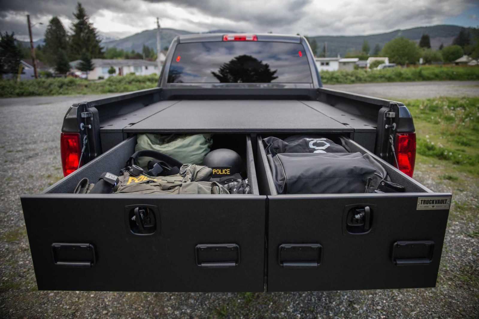 Ford F-150 storage system