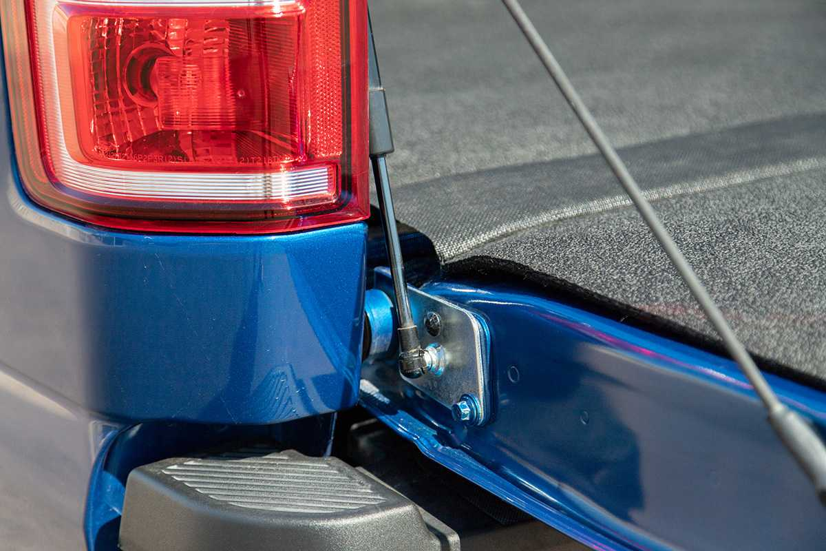 Ford F-150 mods Tailgate assist