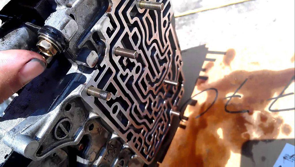 transmission valve body symptoms