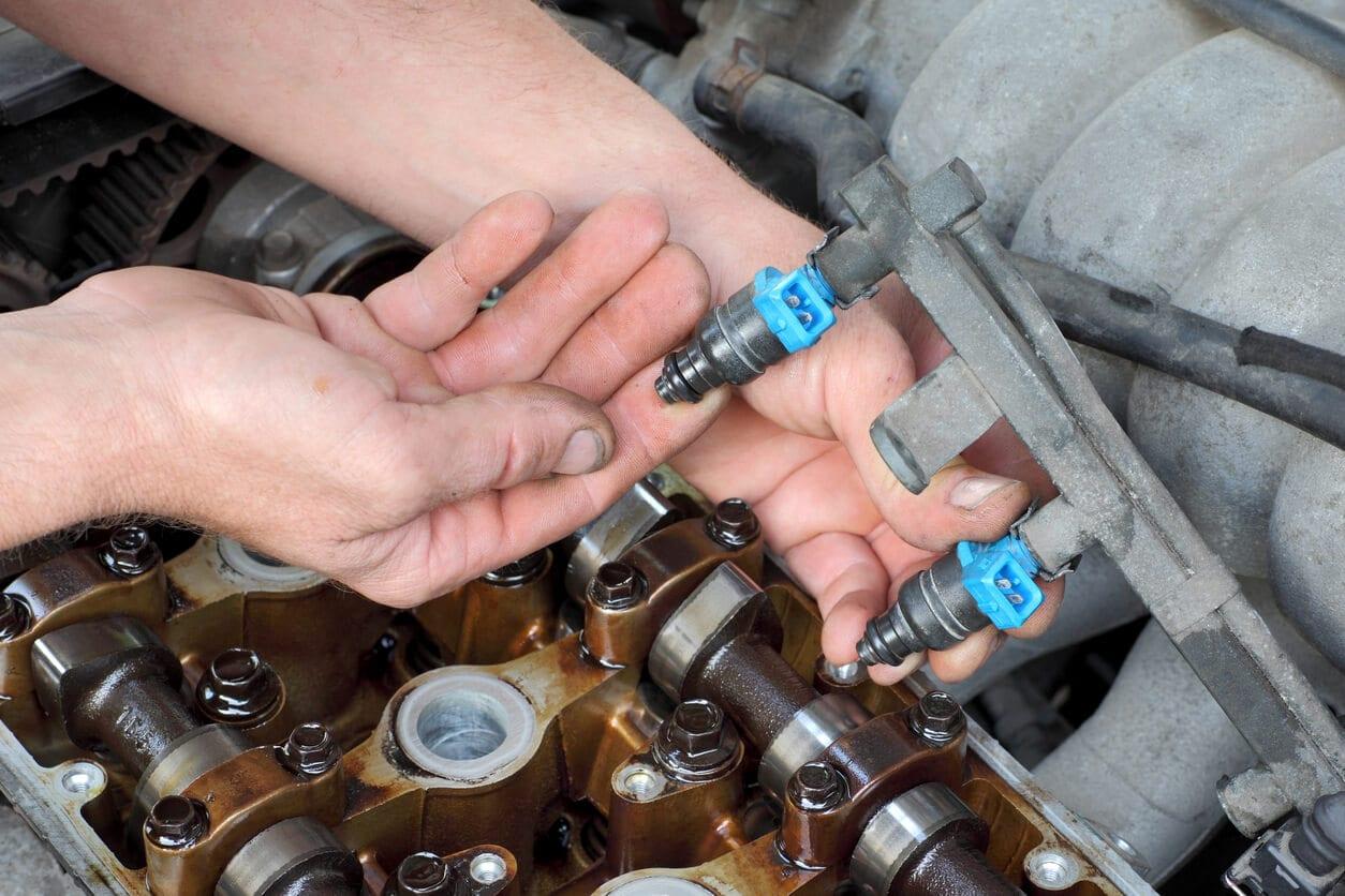 faulty fuel injector