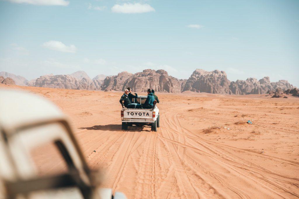 truck desert
