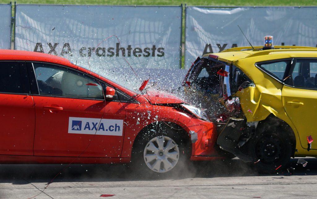 car crash testing