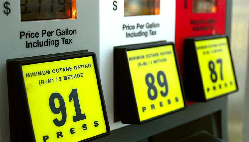 gas octane rating