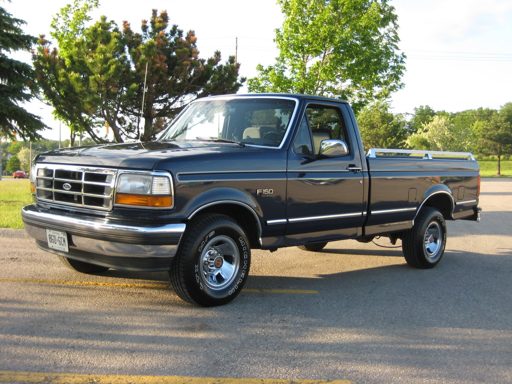old body style truck