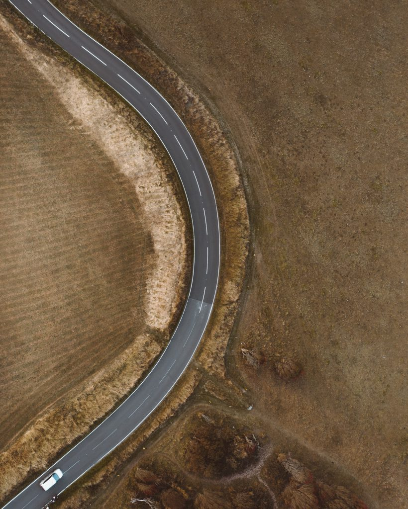 car road