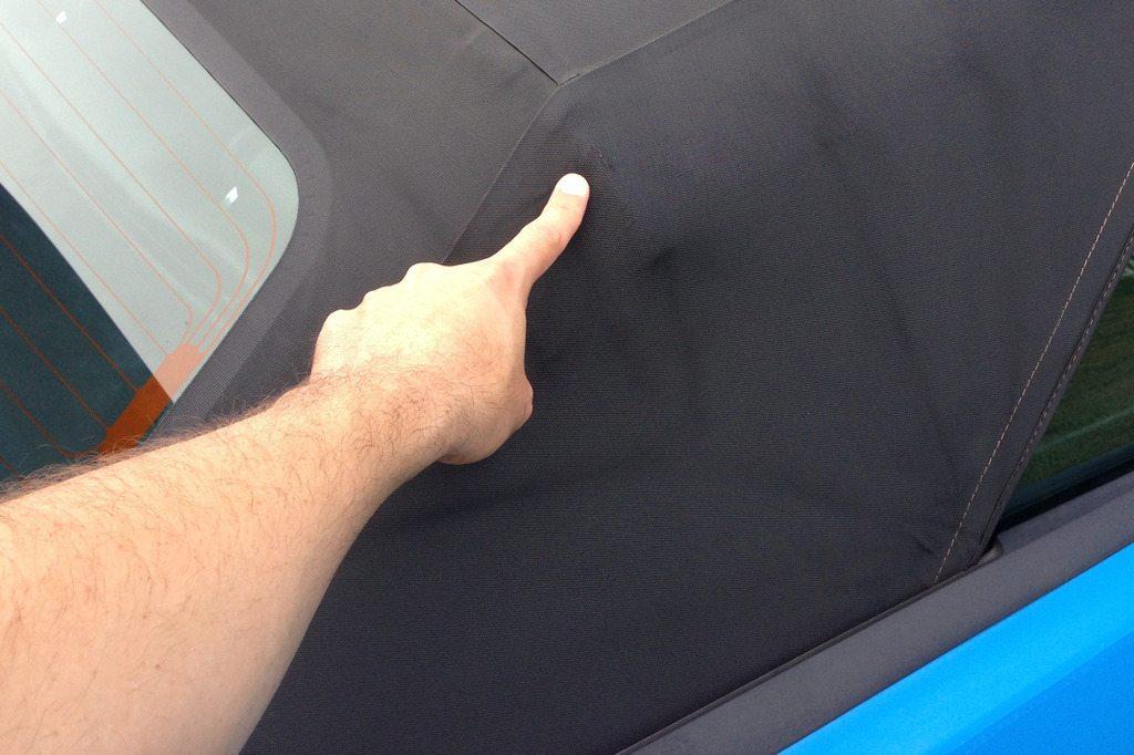 repair a convertible top