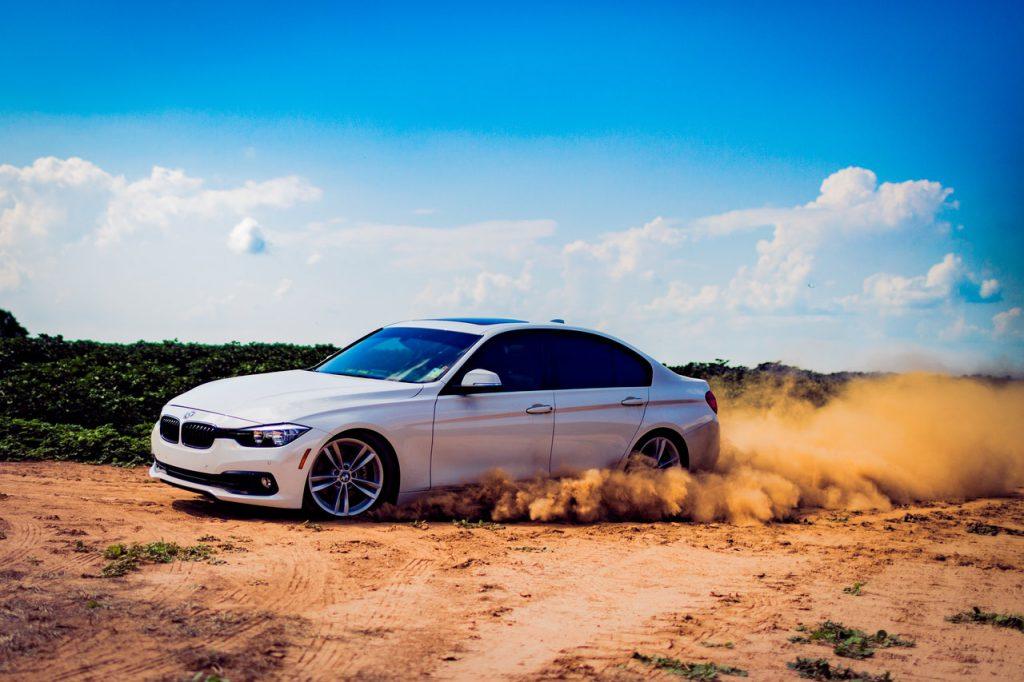 car desert