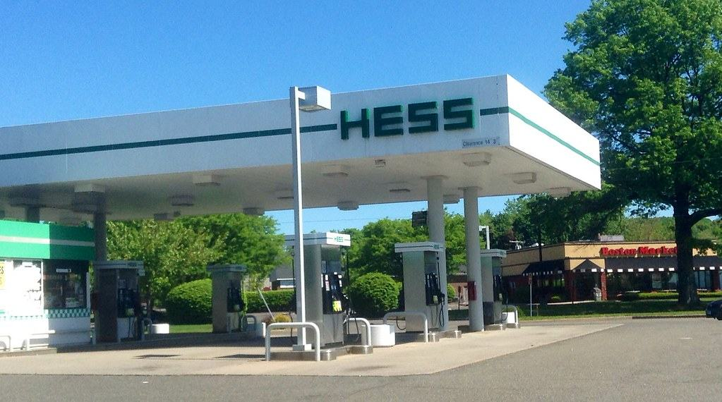 self serve gas station