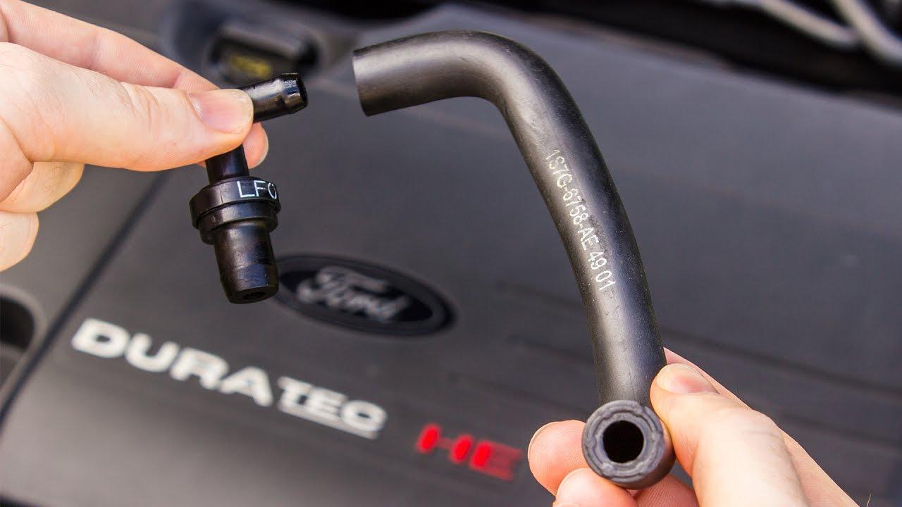 bad PCV valve hose