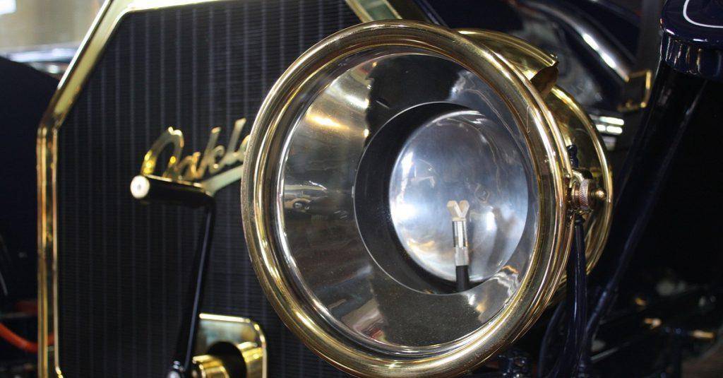 automotive lighting history acetylene headlights