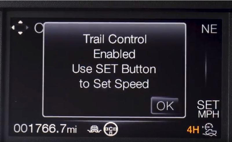 Trail Control Cluster