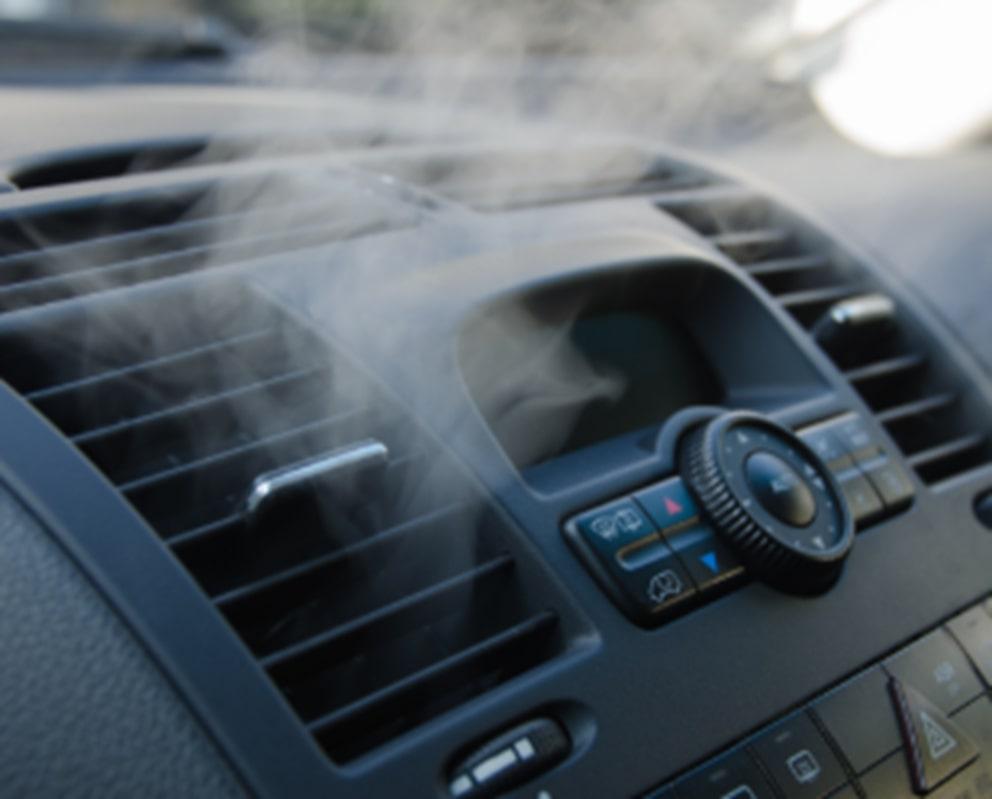 car AC smells bad