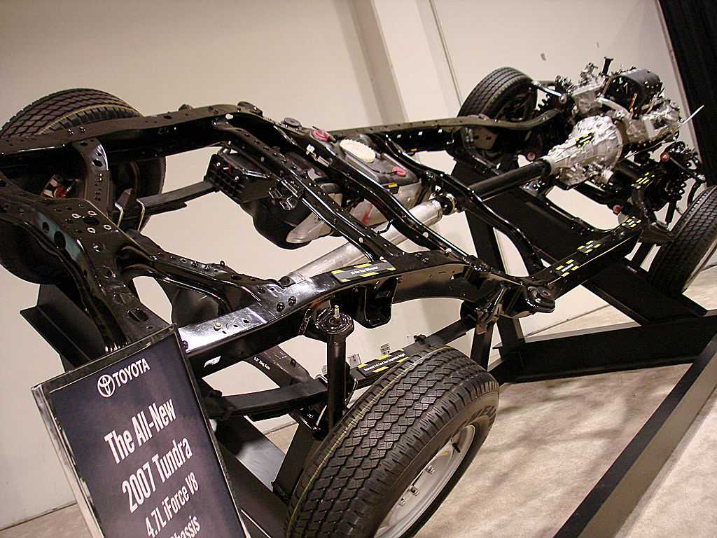 types of car chassis