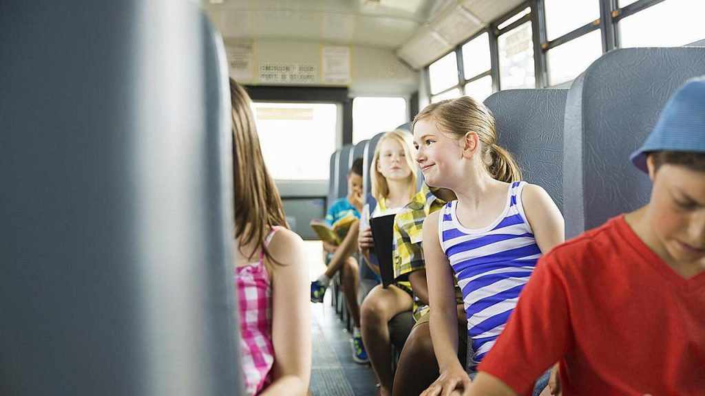 seat belts on school buses are hard to enforce